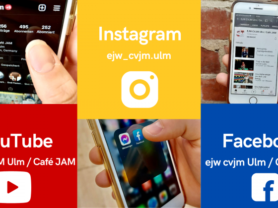 Instagram, Facebook, YouTube