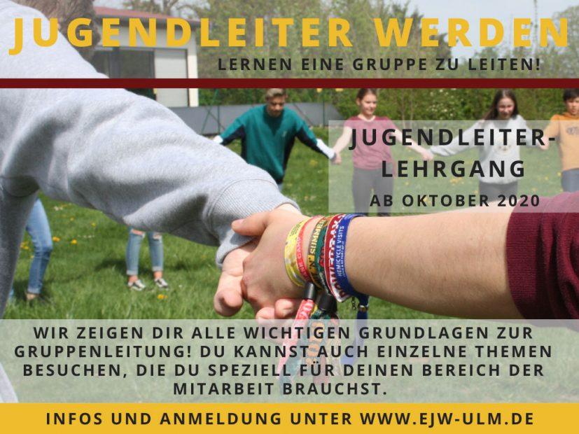 Jugendleiterlehrgang im Herbst 2020