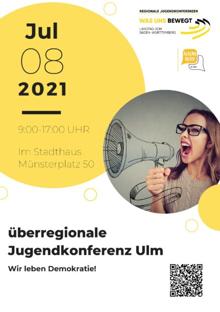 Plakat der Jugendkonferenz