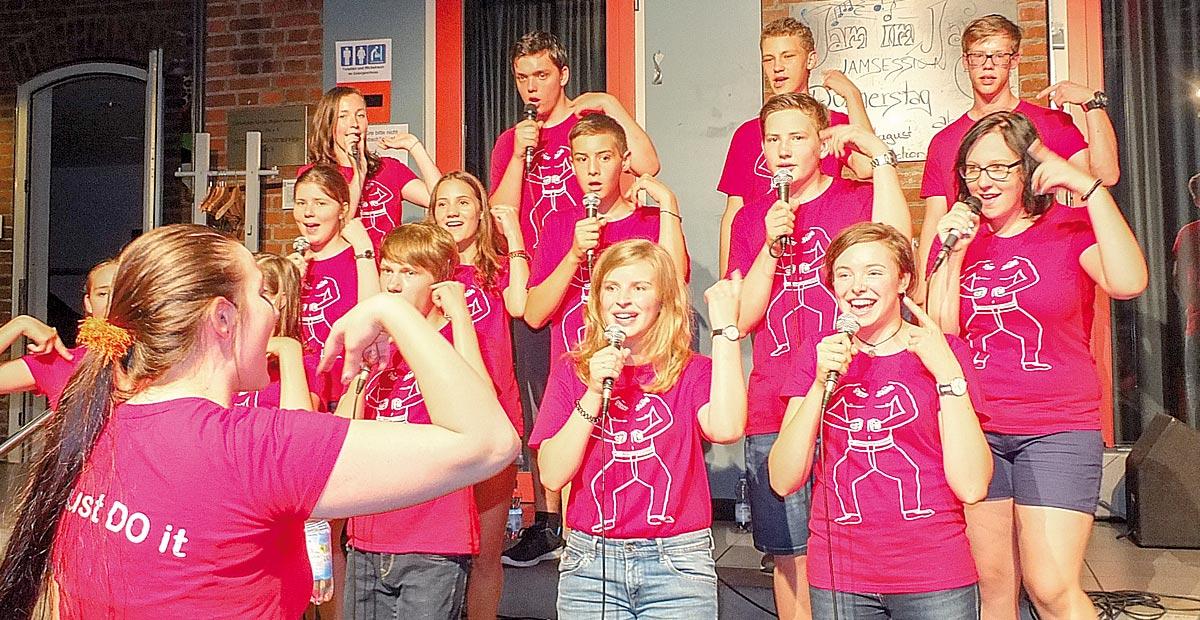 Ten Sing Ulm – Proben